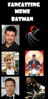 Fancasting: Live Action Batman Series by Popculture-Patron