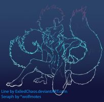 Wolfmotes Seraph Gift: WIP by ExiledChaos