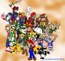Super Smash Bros. Melee by smashsweetie