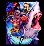 Rocky vs. Jaws by mallaard