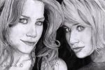 Twins Olsen by cindy-drawings