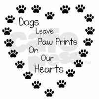 Dogs Leave Pawprints On Our Hearts by Wolfgirl-livy