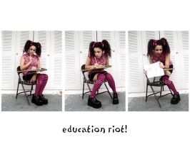 Education Riot by uvita