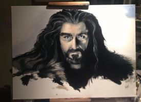 Thorin Progress by huntaa91
