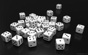 Dices BW by texturewave