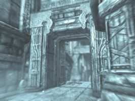 Old Dwarven halls by isaac77598
