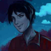 Marshall Lee from Adventure Time by equillybrium
