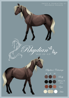 NEW Rhydian Reference by MichelleWalker
