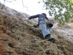 Lead Climbing by luthien-soroniel