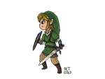 Skyward Sword- Link (animated) by BETGOLD