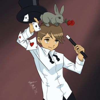 Boy Magician by In8one