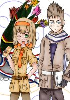 Belgium and Netherlands - Hetalia by Mizuka-san