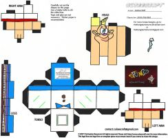 Spumco 1: Jimmy the Idiot Cubee by TheFlyingDachshund