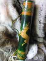 Oak Stag Quiver by TheScreamingNorth