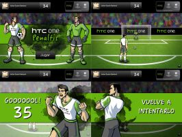 HTC ONE Penaltis by karulox