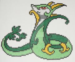 Pokemon Bead: Jalorda by titovn