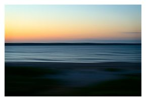 Nightfall at Baltic Sea by HorstSchmier