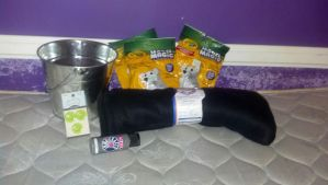 I got more supplies!!!!!! and a bucket.... :D by scatteredSparks
