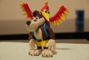 Banjo-Kazooie by Moonacat