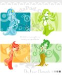 The Four Elements by GenevieveGT