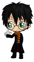 Harry Potter Chibi by IcyPanther1