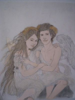 The love of Eros and Psyche