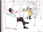 Daily Commute 2011 by deadlymike