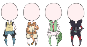Pokemon Outift Adoptables~ [CLOSED] by Kendydayo