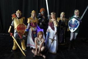 Zelda group : TP and OoT by Narayu
