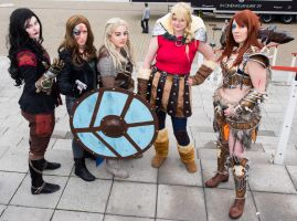 MCM Expo Oct 2014 78 - Group Shot by cosmicnut