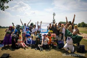 cosplay against cancer meet hyde park by KairiCosplayHearts