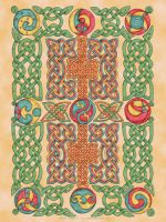 Celtic Knotwork Panel by foxvox