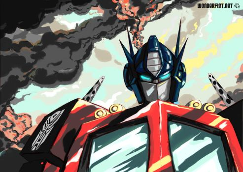 OptimusPrime_WIP by AndrewTunney