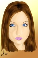 Girl portrait 1 by Ceomyris