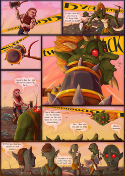 Between the Vale PROLOGUE:: Page 1 by Blaze-TFD