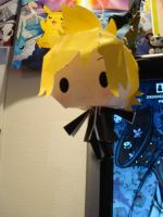 Paper Craft Roxas. by sloppy-octopus