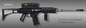 Fictional Firearm: HC-SG516 Sniper Rifle by CzechBiohazard