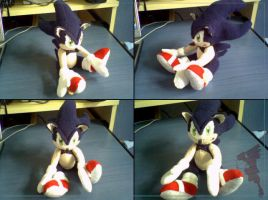 Dark SuperSonic Plushie by LiChiba