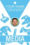 Free Media Badge #2 by CaponDesign