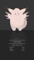 Clefable by WEAPONIX