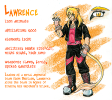 Lawrence, Lion Animate by Tomecko