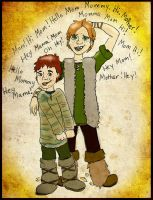 HTTYD OCs: Haddock Sons by ch4rms