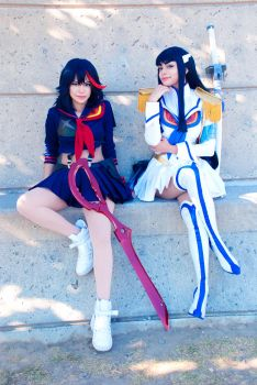 Kill La Kill - Ryuko and Satsuki by TechnoRanma