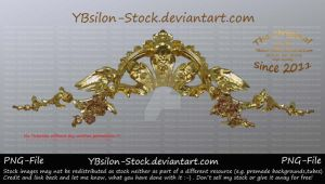 Golden Tiara with wings by YBsilon-Stock by YBsilon-Stock