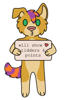 tidders 4 points by SammichPup