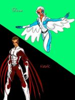 Hawk and Dove Redesign by TreStyles