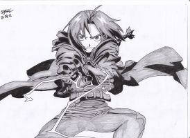 Edward Elric by AMRRCReviews