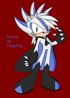 Demon the Hedgehog by Rose025