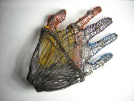 Wire Hand view 2 by MissElsy