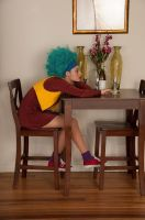 DBZ Bulma Cosplay: Waiting for Love by neoqueenhoneybee